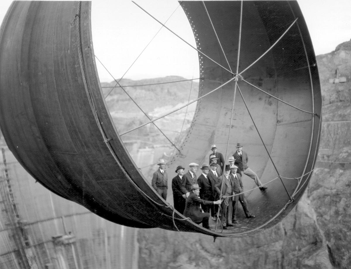 Výstavba hooverovej priehrady