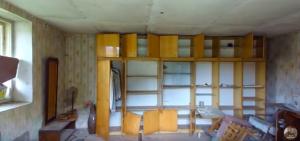 Obývačka domu, v ktorom sa odohrala najbrutálnejšia vražda v dejinách Československa