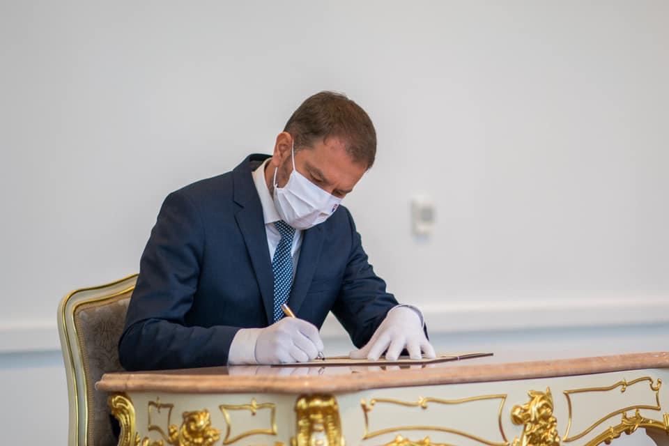 Premiér SR, Igor Matovič