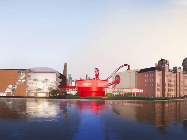 Amsterdamská továreň na čokoládu