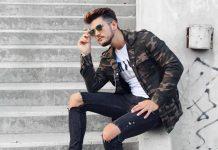 Mužský trendy odev