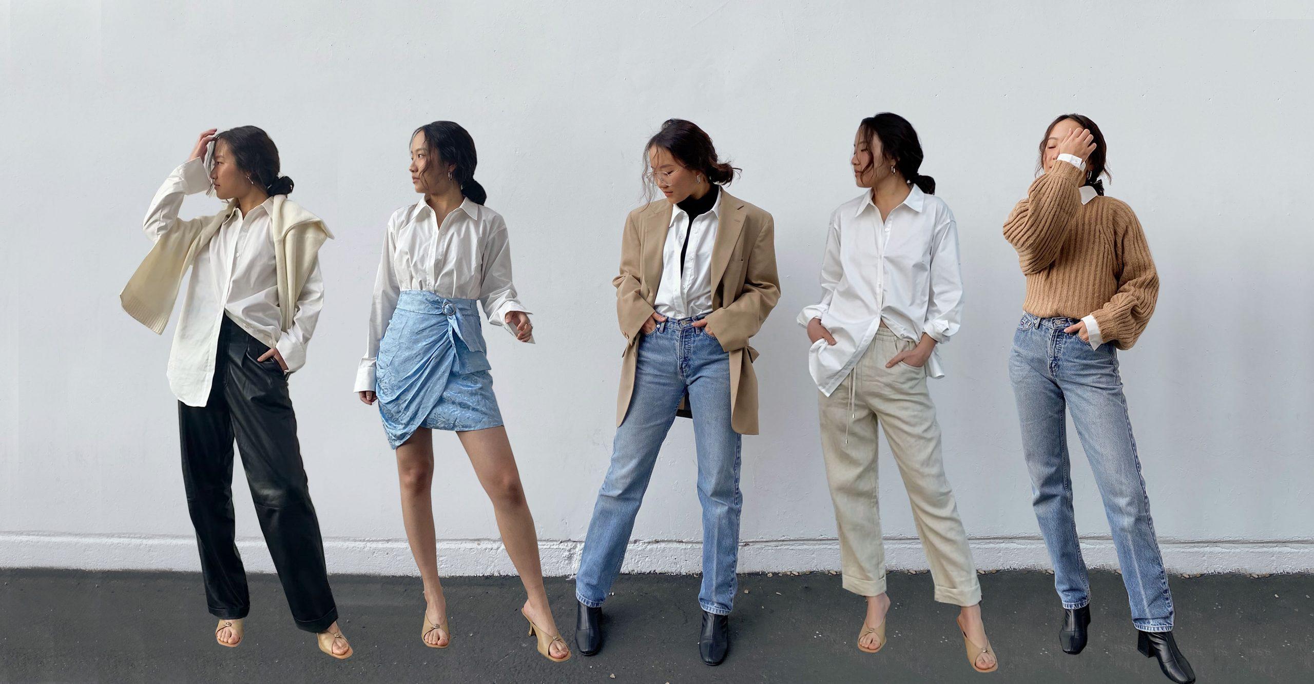 Štýlový odev pre ženy